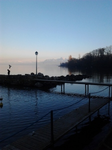 Lac leman at yvoire