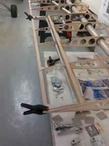 Stbd aileron test