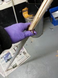 Strut tube treatment